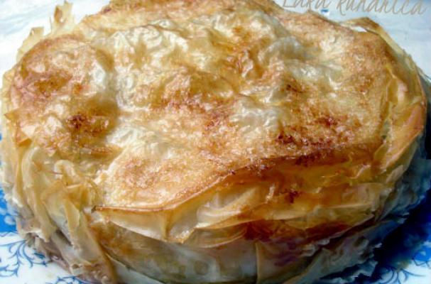 Phyllo Apple and Pear Pie