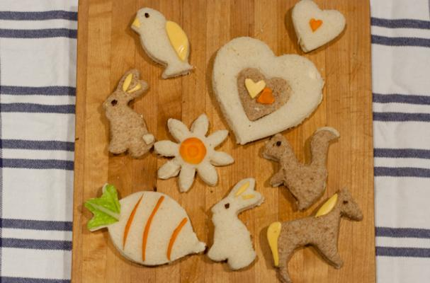 Animal Sandwich Cut Outs! <3