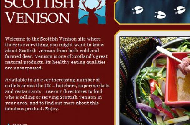 Scottish venison