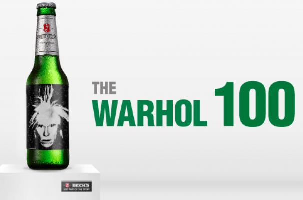 Beck's Warhol 100 Auction
