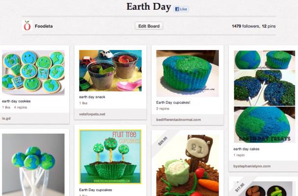 Earth Day pinterest board