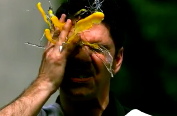 Slow Motion Egg to the Face Video