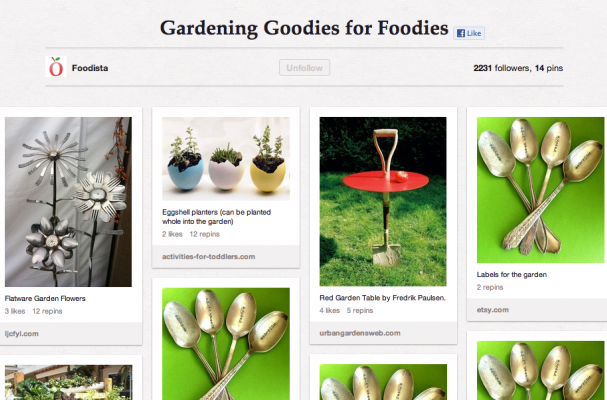 Gardening Goodies for Foodies
