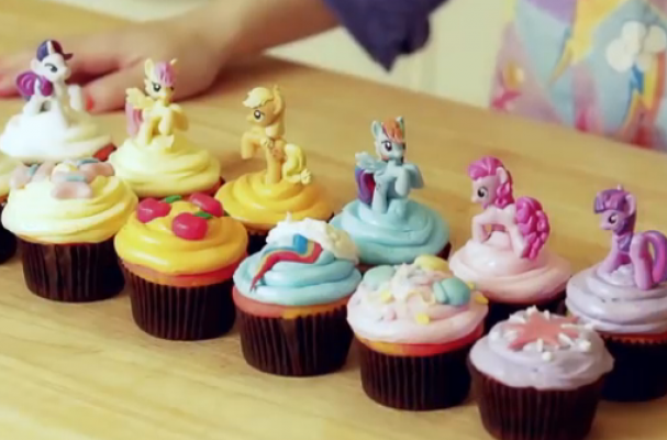 Foodista Too Cute My Little Pony Cupcakes