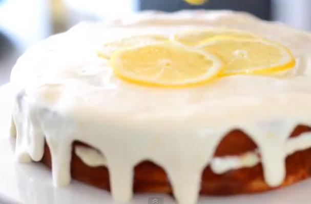Foodista   Luscious Gluten-Free Lemon Layer Cake