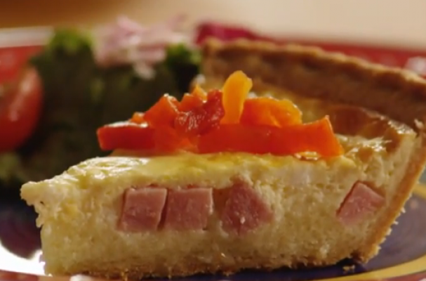 Foodista | Lovely Leftovers: Ham and Cheese Quiche