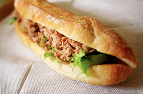 le french tuna salad sandwich recipe on food52 pan bagnat le french ...