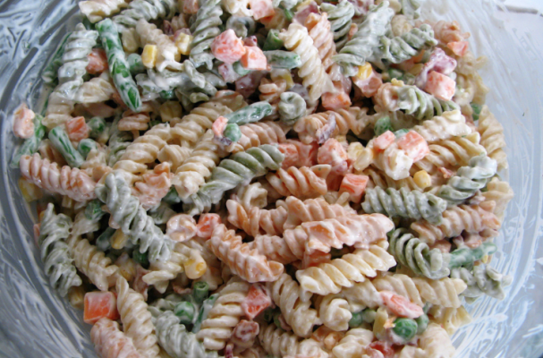 Cream Cheese Pasta Salad With Chicken And Vegetables Is The Perfect Party Food Because You Can Prepare This Dish Well In Advance