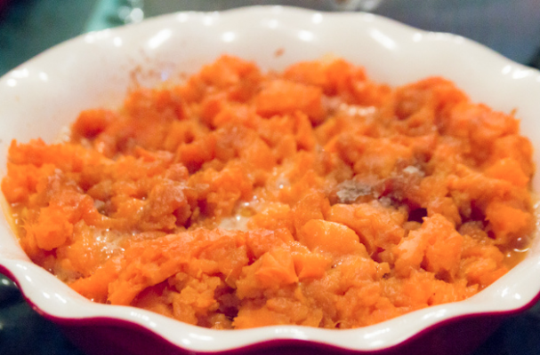 Foodista | Perfect Mashed Parsnip and Sweet Potatoes