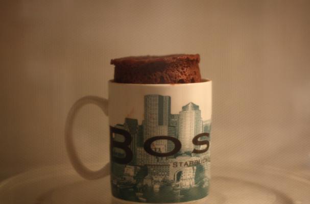 Salted Caramel Mug Cake