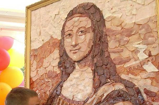 meat mona lisa
