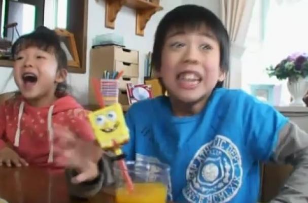 spongebob squarepants kids mcdonald's japan