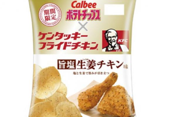 KFC Savory Salt Ginger Chicken Chips