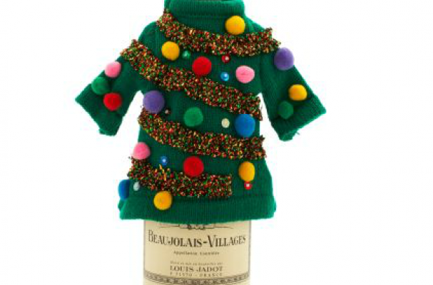 Ugly Sweater Bottle Cover