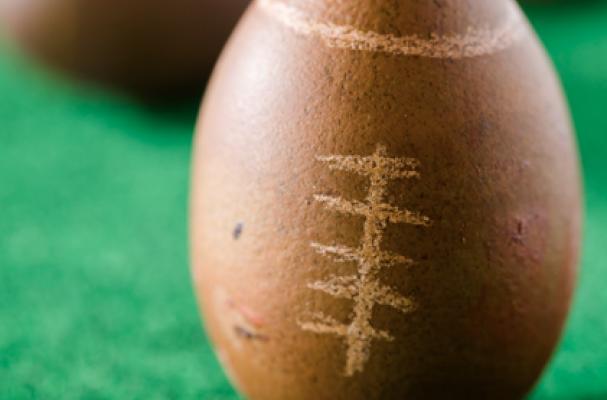 Super Bowl Football Cupcakes
