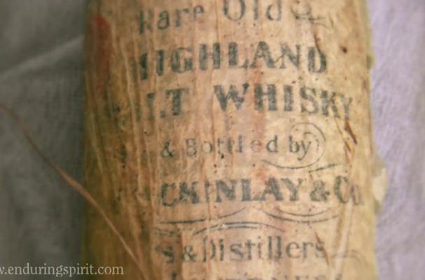 Shackelton Whisky Label