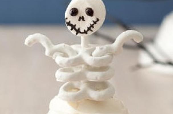 skeleton cupcakes