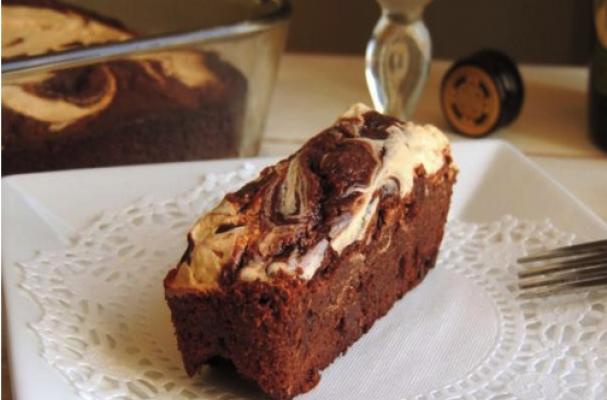 Foodista | Gluten Free Irish Cream Cheesecake Brownies