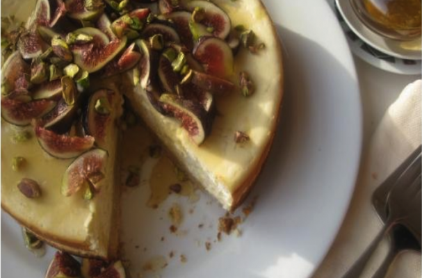 Fig and Honey Cheesecake