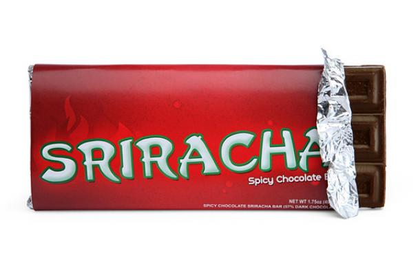 Sriracha Chocolate Bar