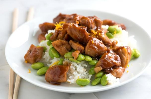 Honey orange teriyaki