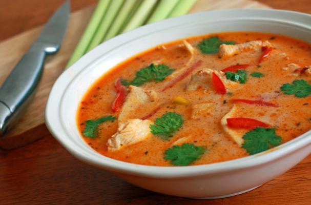 Foodista | Tantalizing Thai Chicken Coconut Soup