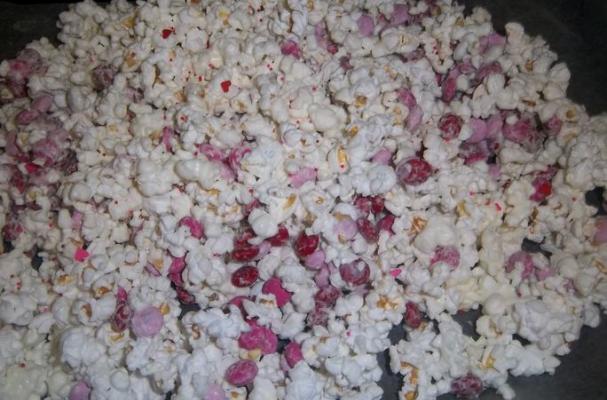 Valentine's Day Popcorn Treat