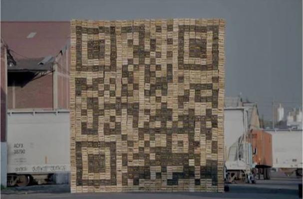 VW's Giant QR Code