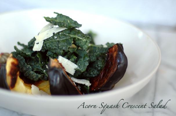 Acorn Squash Crescent Salad