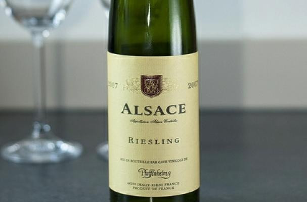 alsace riesling dry