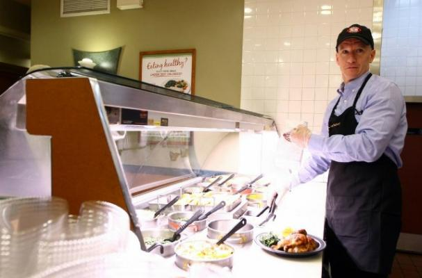 Anderson Cooper Becomes a Boston Market Employee