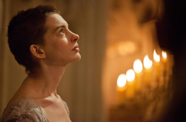 Anne Hathaway Talks 'Les Miserables' Diet