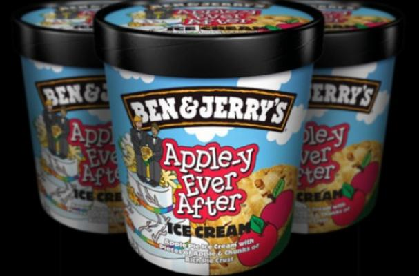 Ben & Jerry's Apple-y Ever After Ice Cream