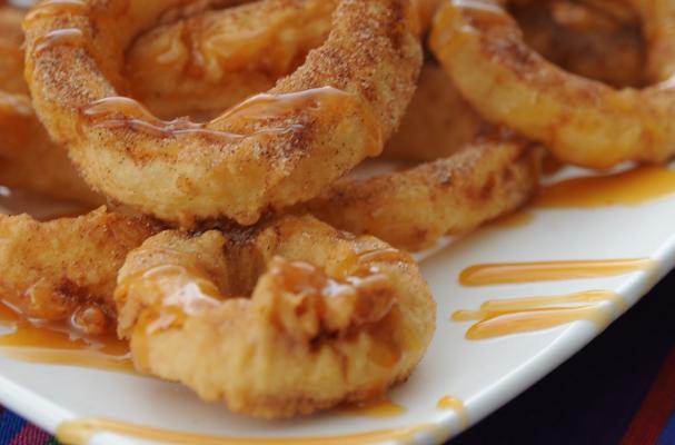Foodista | Fabulous Fried Apple Rings