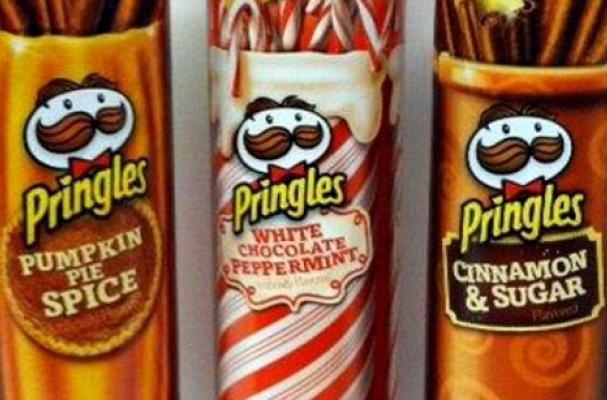Pringles Holiday Flavors
