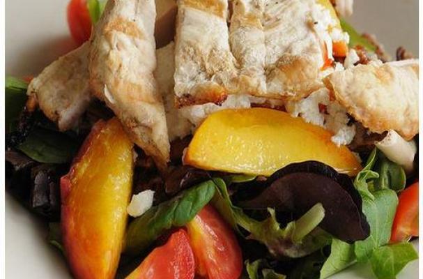Arugula and Goat Cheese Salad