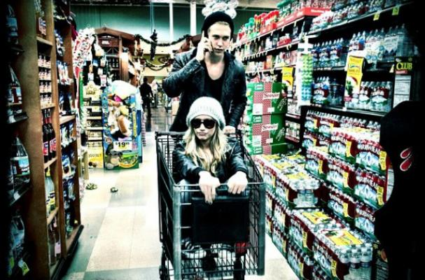Disney Stars get Silly in Grocery Store