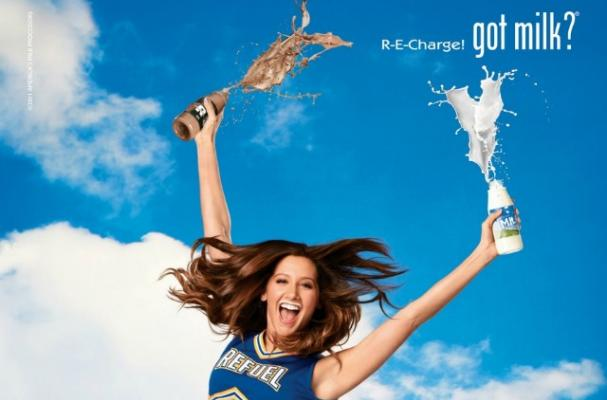 Ashley Tisdale's Got Milk Ad