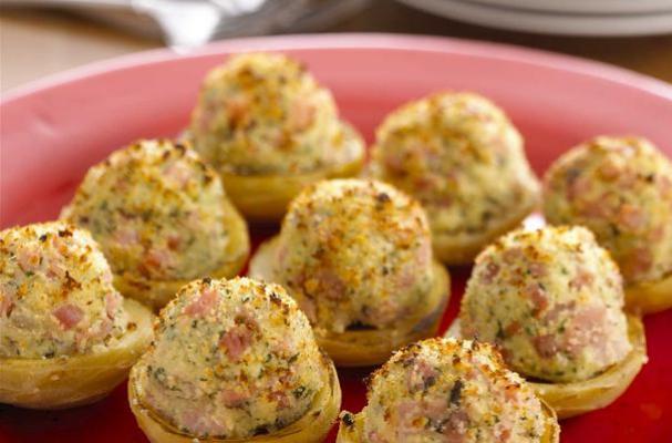 ... | Easy Appetizer: Spinach And Artichoke Stuffed Artichoke Bottoms