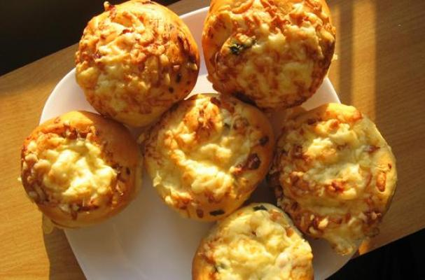 Onion Bacon and Cheese Buns