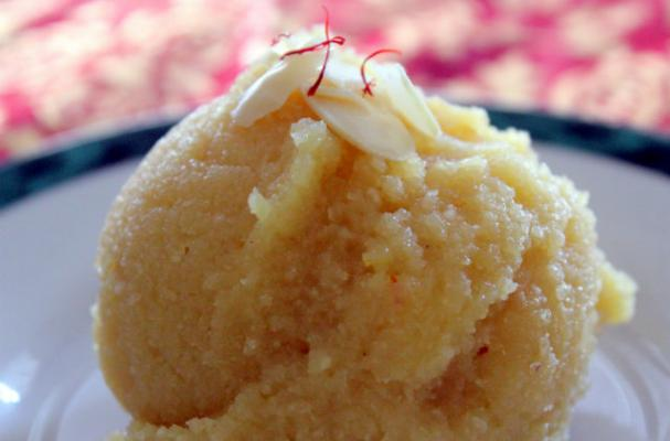 Around the World: Indian Badam Halwa
