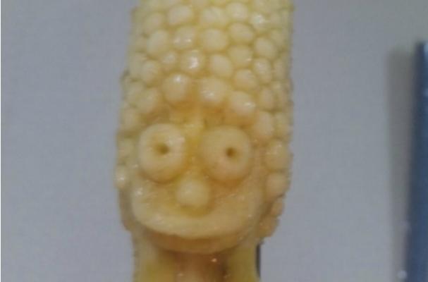 Marge Simpson Banana Sculpture