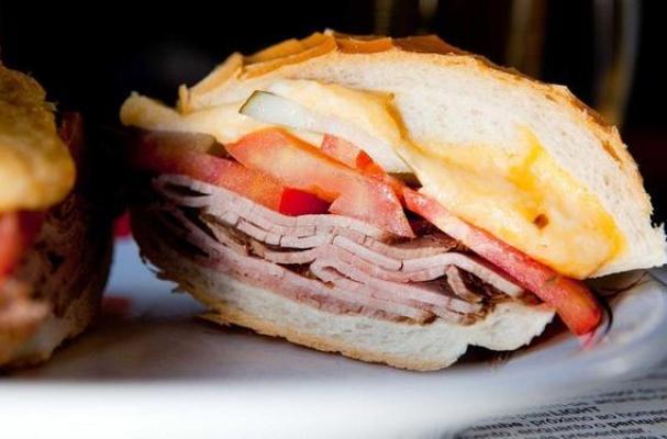 Classic Brazilian Bauru Sandwich
