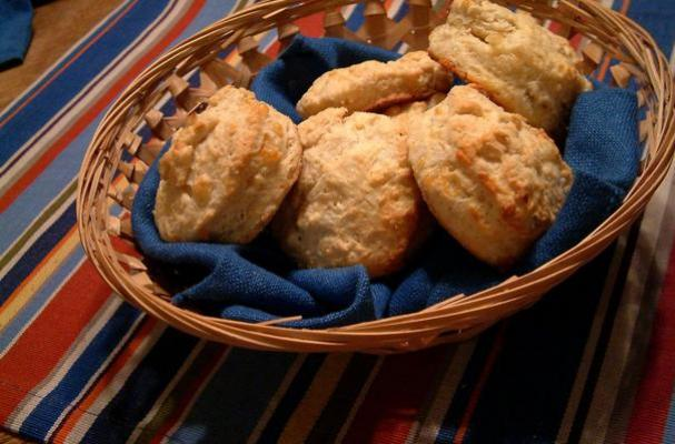 Savory Apple Cheddar Scones