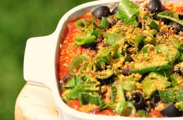 Gluten Free Mexican Bean Layer Dip