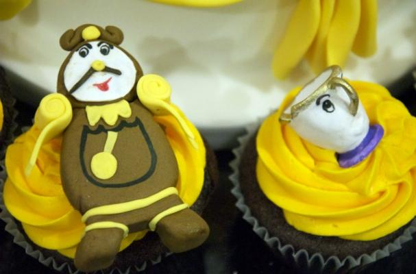 'Beauty and the Best' Cupcakes are Enchanting Treats