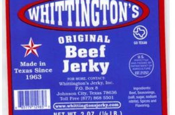 Whittington's beef jerkey