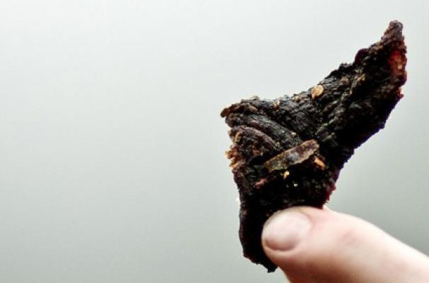 caffeinated beef jerky