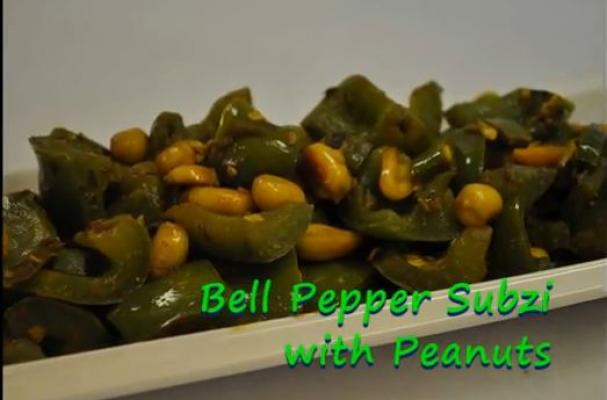 Bell Pepper Subzi