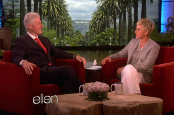 Bill Clinton Talks Vegan Diet With Ellen
